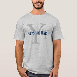 T-shirt Conception de monogramme de race de Yorkshire