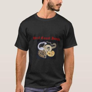T-shirt Conception de Morp de python de boule
