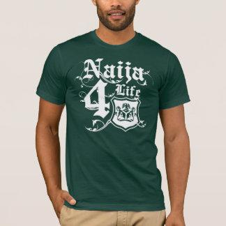 T-shirt Conception de Naija4life avec le manteau des bras