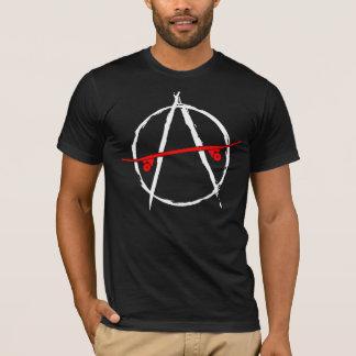 T-shirt Conception de patin d'anarchie