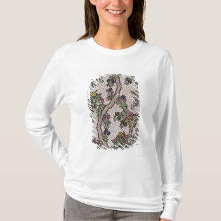 T-shirt Conception de textile des formes de plante et de