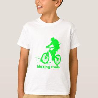 T-shirt conception de vélo de montagne
