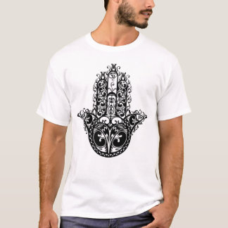 T-shirt Conception décorative de Hamsa