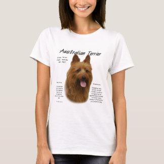 T-shirt Conception d'histoire de Terrier australien