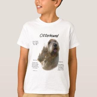 T-shirt Conception d'histoire d'Otterhound