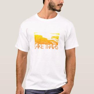 T-shirt Conception d'horizon de Travis de lac