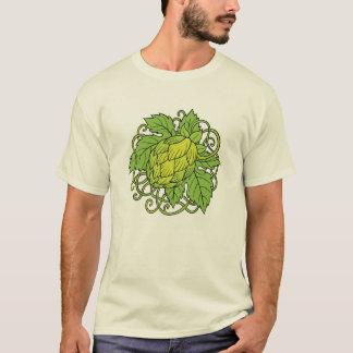 T-shirt Conception d'houblon (la pièce en t de l'amant de