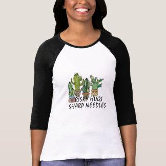 T-shirt conception drôle de chemise de cactus d'aiguilles