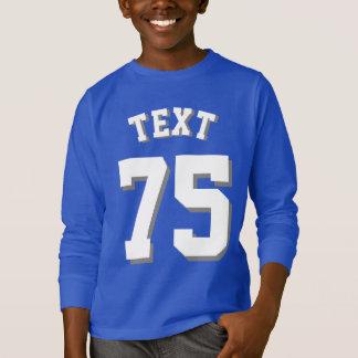 T-shirt Conception du Jersey de sports des enfants   de