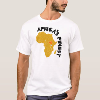 T-shirt Conception du sud de carte du Soudan