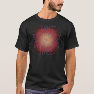 T-shirt Conception en spirale psychédélique :