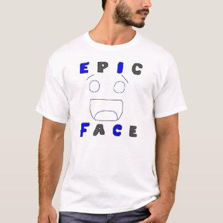 T-shirt Conception épique deux de visage