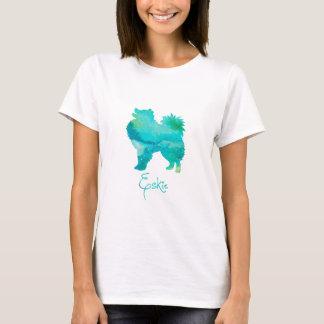 T-shirt Conception esquimaude américaine d'aquarelle