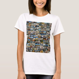 T-shirt Conception Exclusivo 100 Faces de Jerusalém