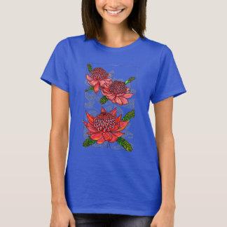 T-shirt Conception florale de Waratahs d'Australien