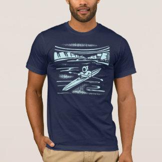 T-shirt Conception graphique de kayak d'Inuit