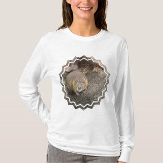 T-shirt Conception Hoody de castor