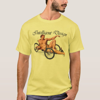 T-shirt Conception intelligente - Adam et tricycle