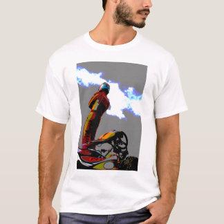 T-shirt Conception karting déprimée