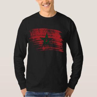 T-shirt Conception marocaine fraîche de drapeau