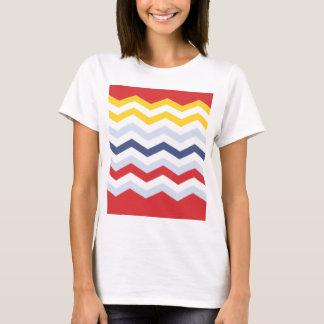 T-shirt Conception multicolore de Chevron