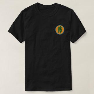 T-shirt Conception noire de correction de Shihan (師範)