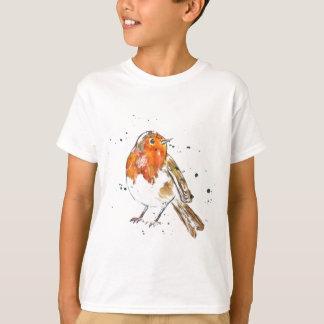 T-shirt Conception pour aquarelle de Robin