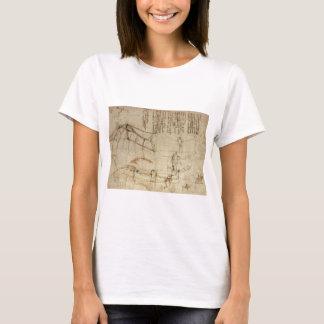 T-shirt Conception pour une machine de vol par Leonardo da