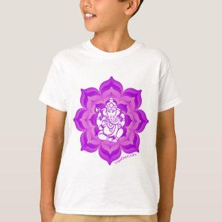 T-shirt Conception pourpre de Ganesh