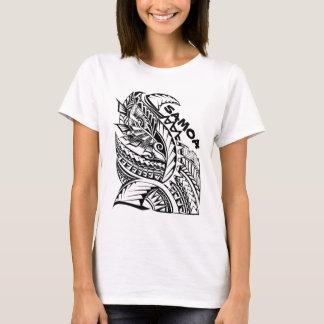 T-shirt Conception tribale d'île du SAMOA
