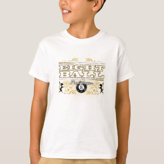 T-shirt Conception vintage de 8 boules