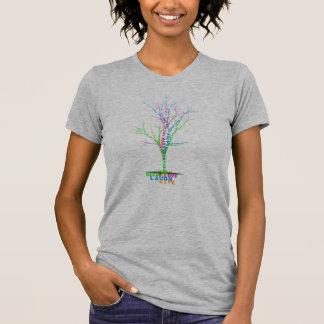 T-shirt Conception vivante de RACINES de rêve de rire