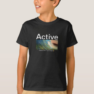 T-shirt Conceptions actives d'usage par : Brian Fugere
