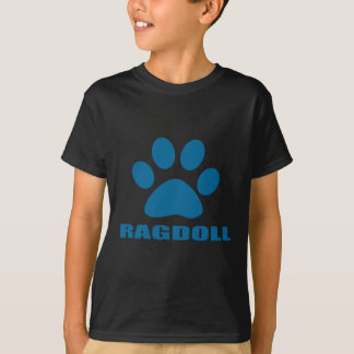 T-SHIRT CONCEPTIONS DE CAT DE RAGDOLL