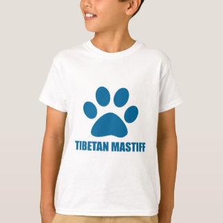 T-SHIRT CONCEPTIONS DE CHIEN DE MASTIFF TIBÉTAIN