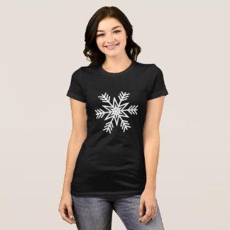 T-shirt Conceptions de flocon de neige de Noël