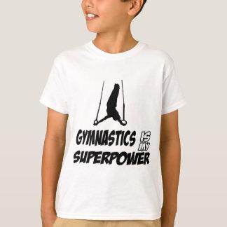 T-shirt Conceptions de gymnastique