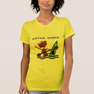 T-shirt Conceptions et choses de poussin de kayak