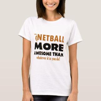 T-shirt Conceptions fraîches de net-ball