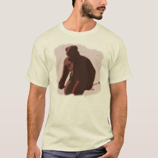 T-shirt Concernez les skis