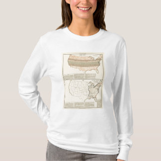 T-shirt Concessions originales de 1776 secteurs arrangés