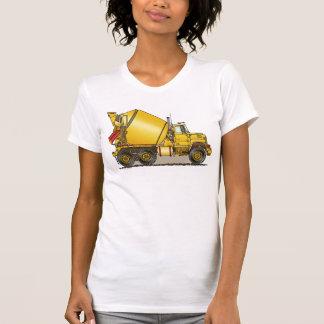 T-shirt concret de filles de camion