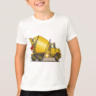 T-shirt concret de garçons de camion