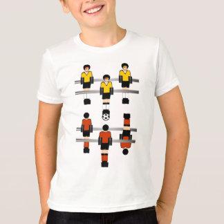 T-shirt Concurrence du football de Foosball