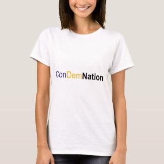 T-shirt condamnation