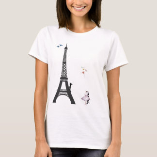 T-shirt Conducteur et Tour Eiffel