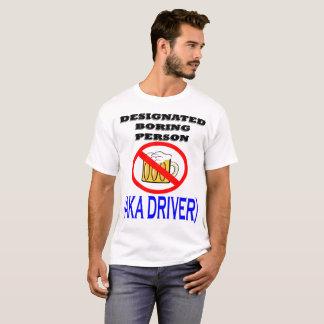 T-shirt Conducteur indiqué