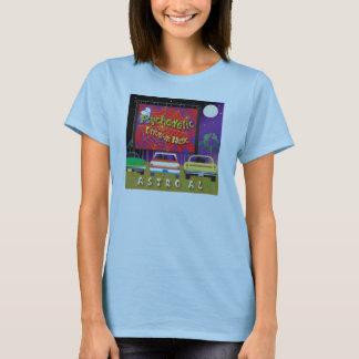 T-shirt Conduisez dans le poussin