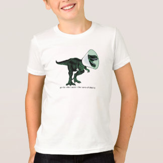 T-shirt Cône de T-Rex de T de l'enfant de la honte 2