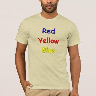 T-shirt Confusion de couleur